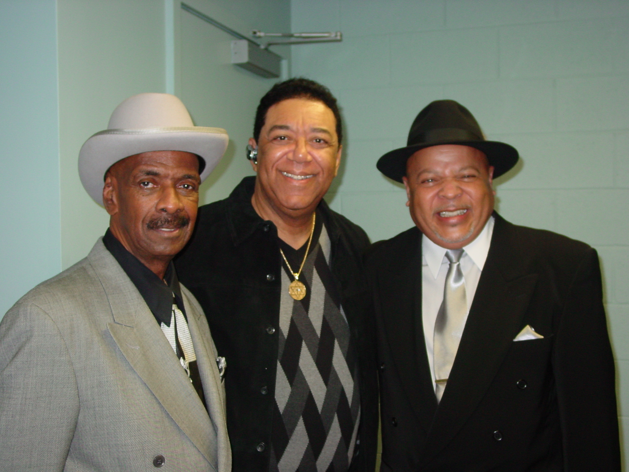 Joe Billingslea (one of the original Contours), Terry and Spyder Turner