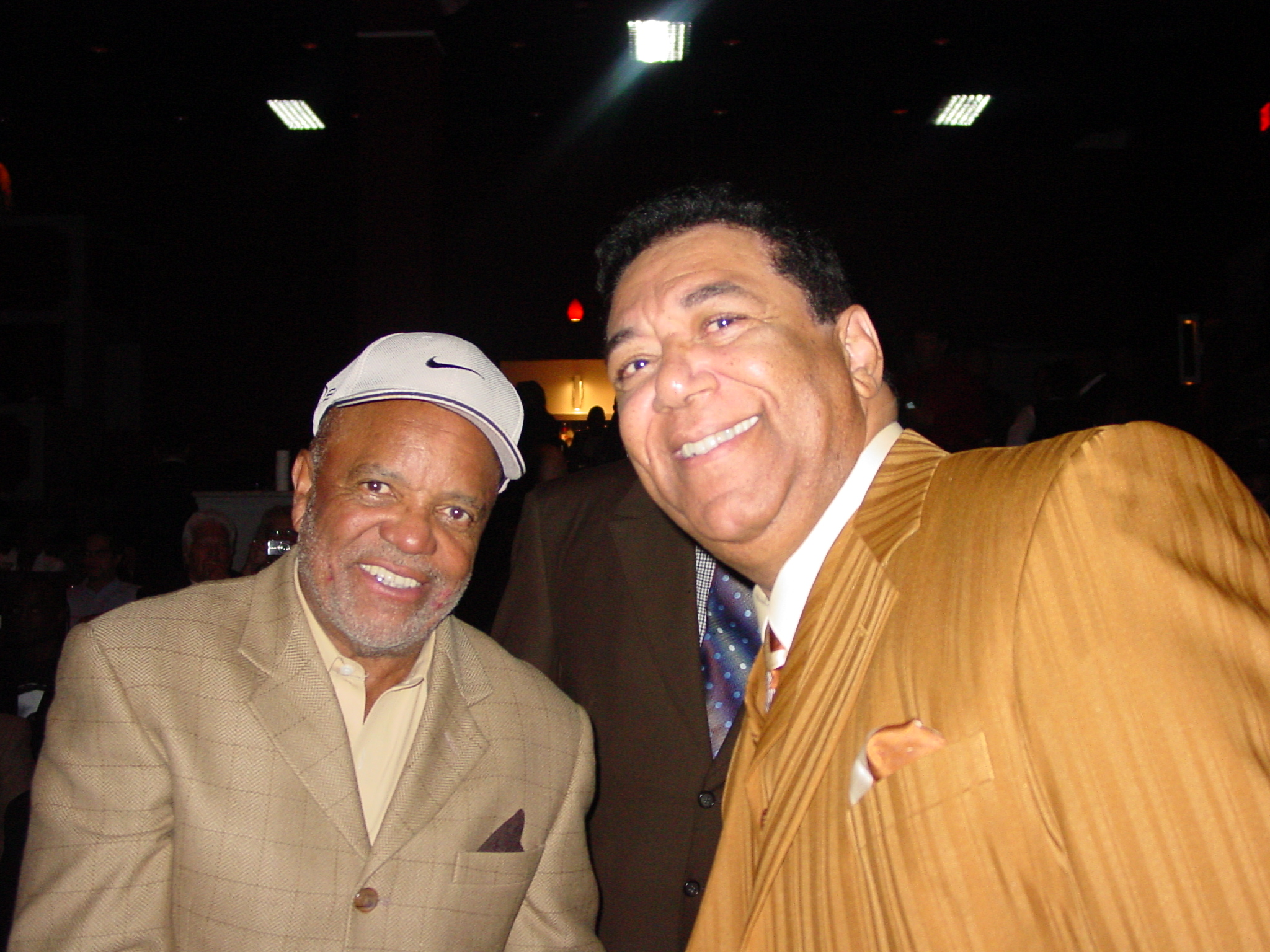Terry & Barry Gordy Jr. at the Jam Session at the Motown Gala
