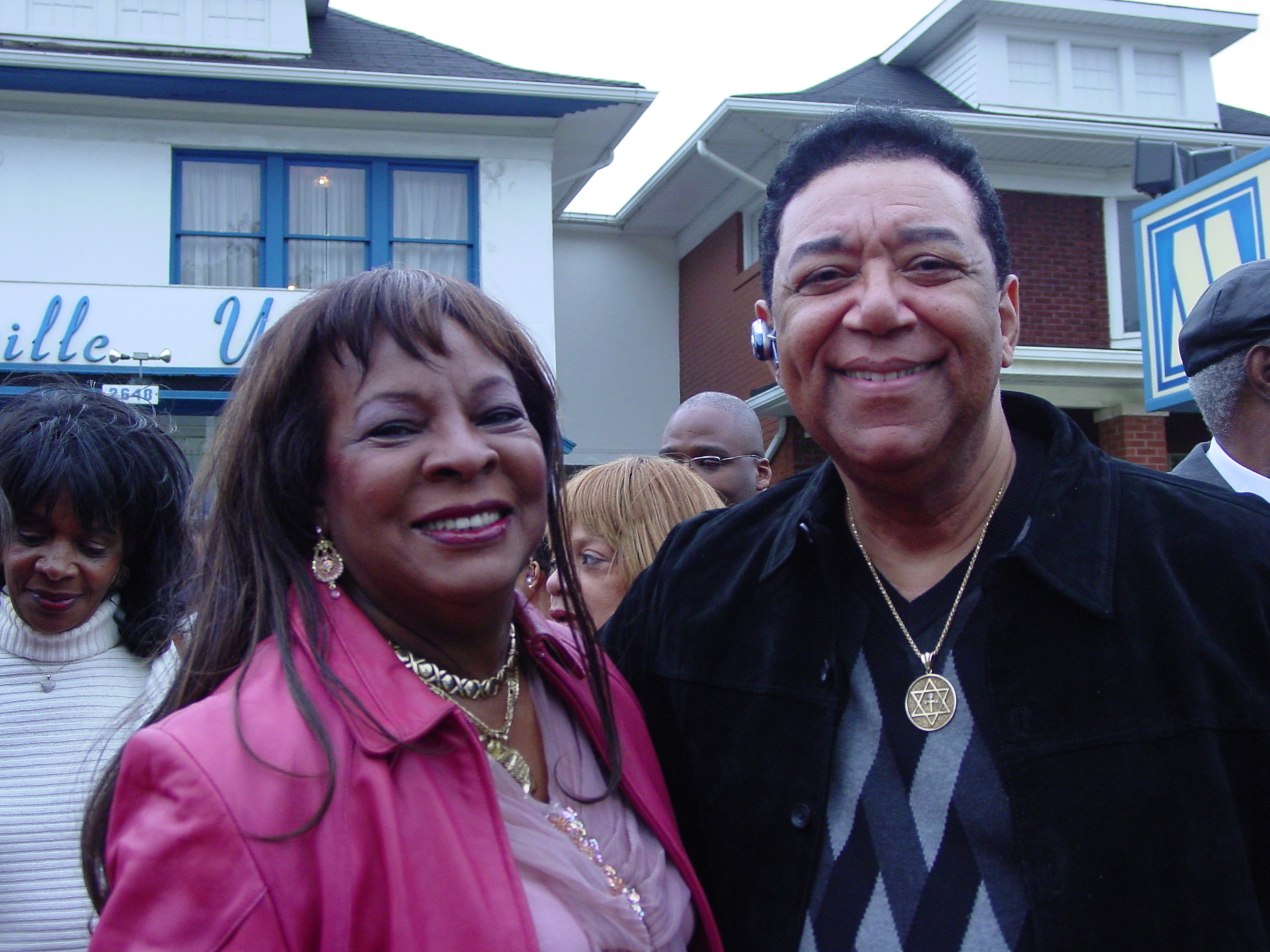 Martha Reeves - Motown 50 Celebration and Barry Gordy Jr. Blvd. dedication