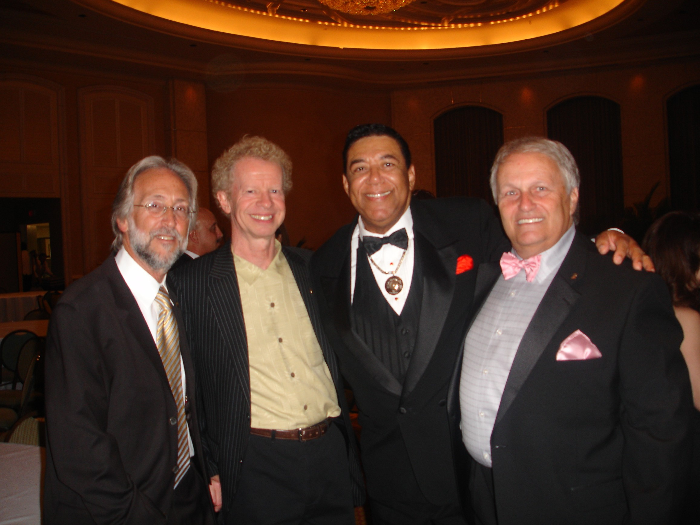 Neal Portnow(Pres. & CEO Grammy Hall of Fame),  Grammy Executive, Terry, Roger Nichols