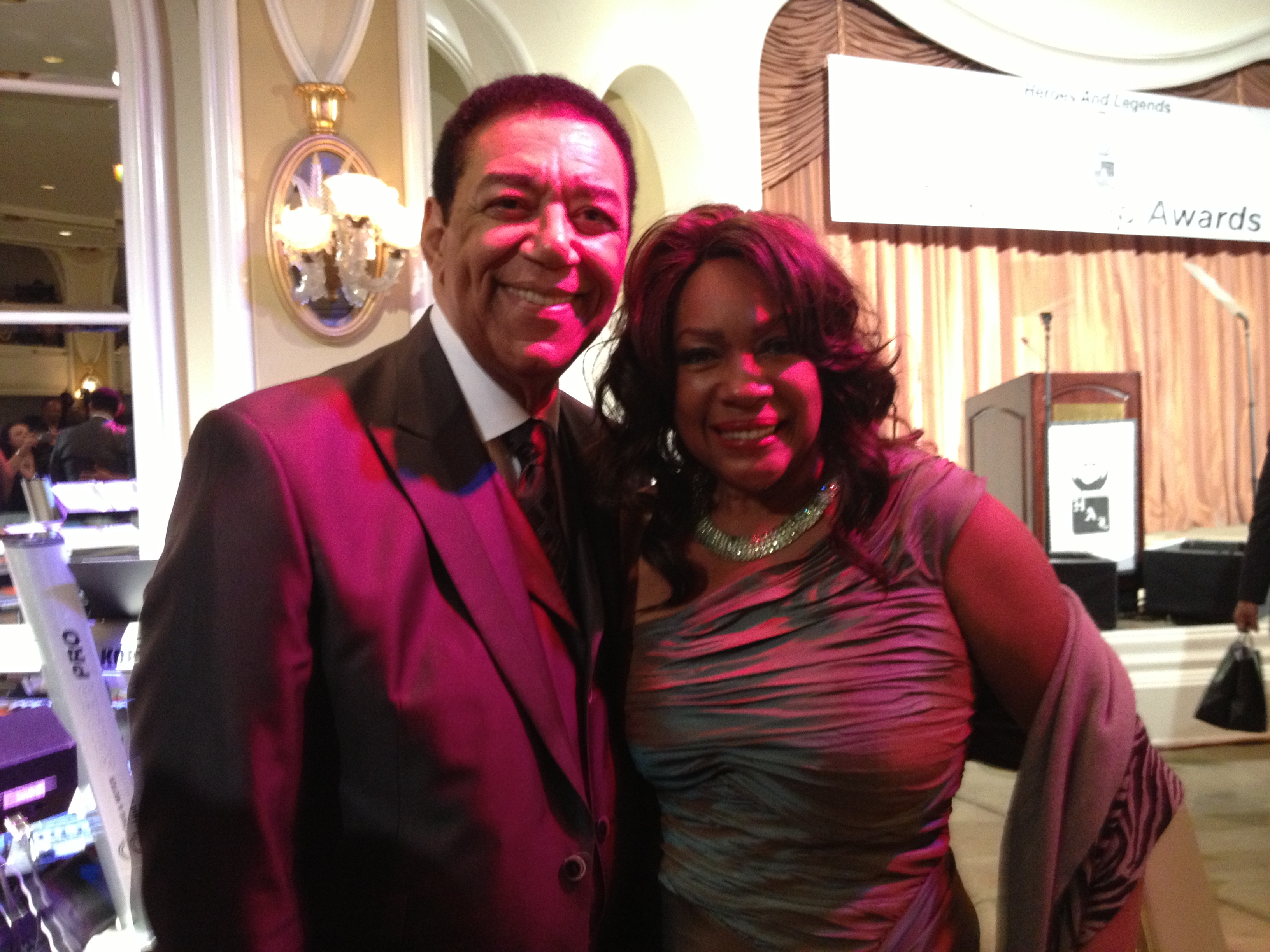 Terry and Motown buddy Mary Wilson